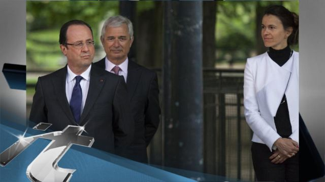 News video: Hollande Signs French Gay Marriage Law